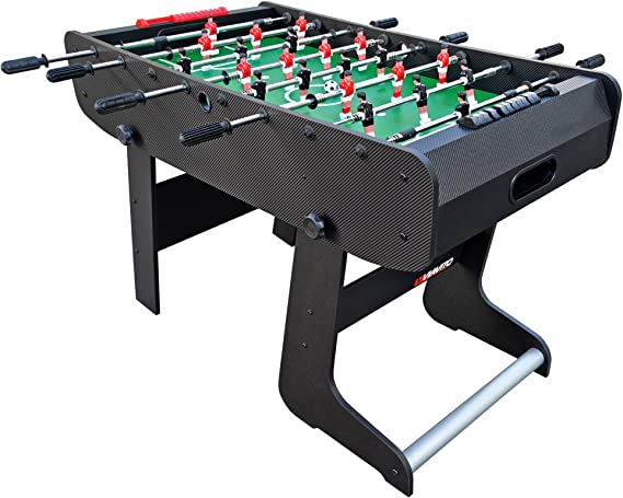 Viavito FT100X Folding Football Mesa, Unisex Adulto, Negro/Verde ...