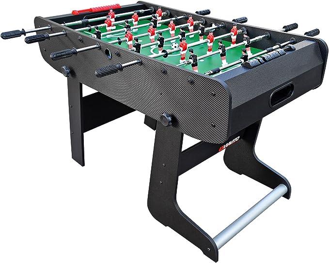 Viavito FT100X Folding Football Mesa, Unisex Adulto, Negro/Verde, Talla única: Amazon.es: Deportes y aire libre