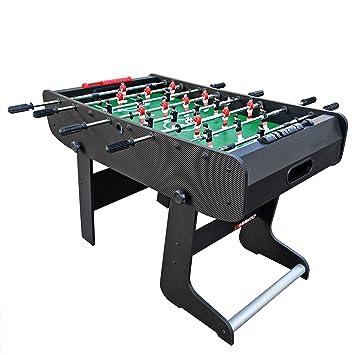 Viavito Ft100x Folding Football Table Black Green One Size
