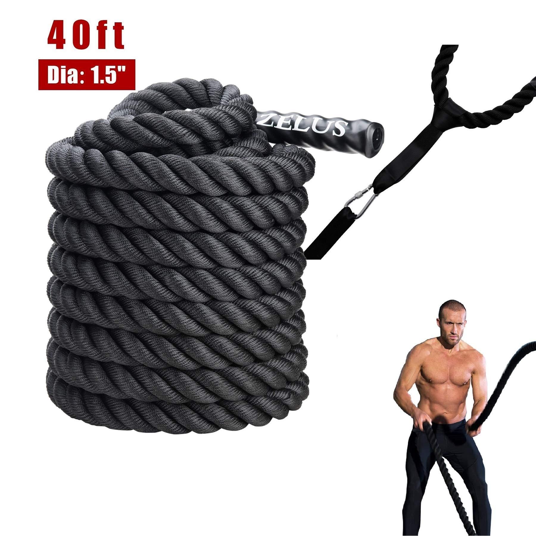 ZELUS Battle Ropes