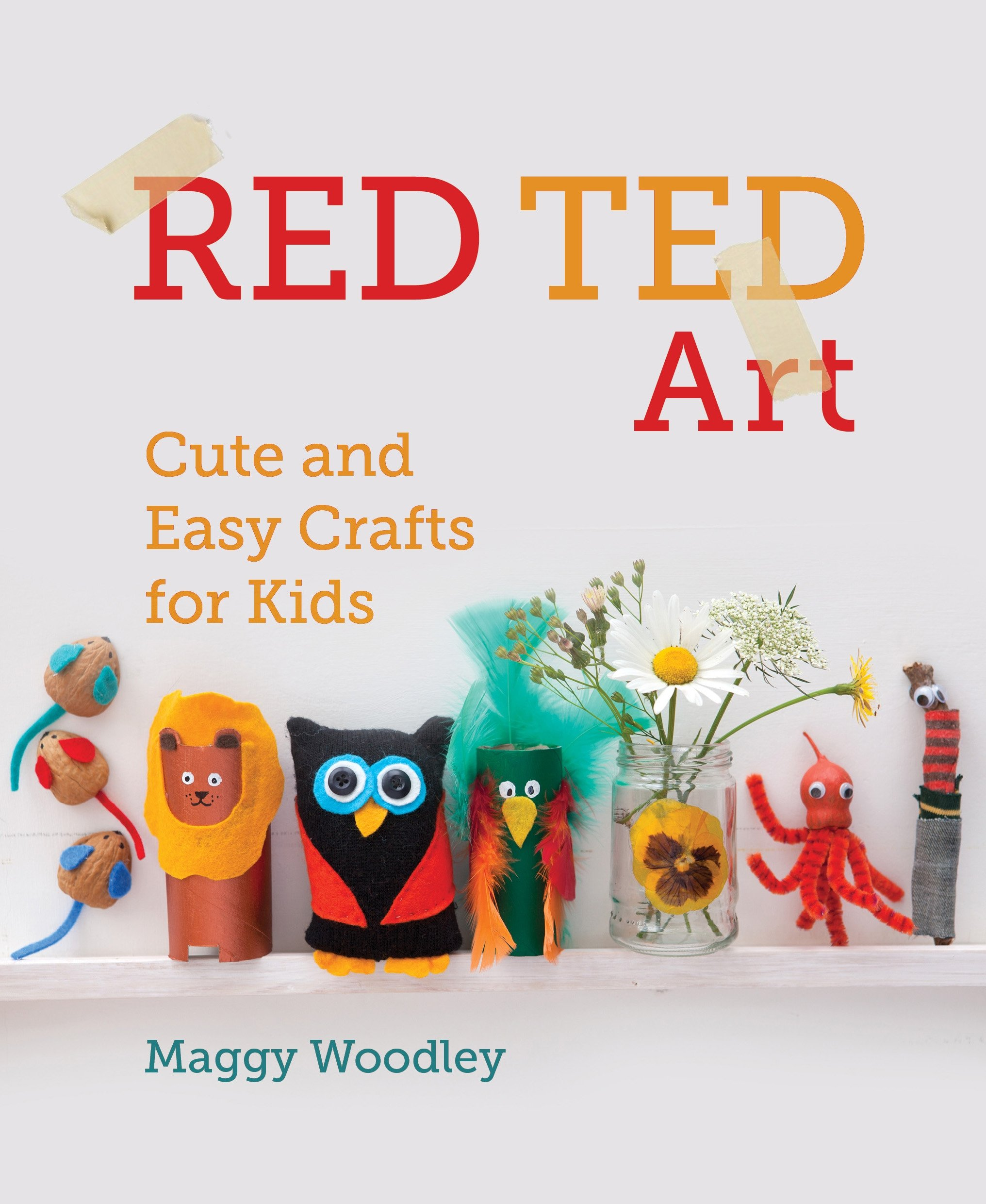 Red Ted Art Cute And Easy Crafts For Kids Maggy Woodley
