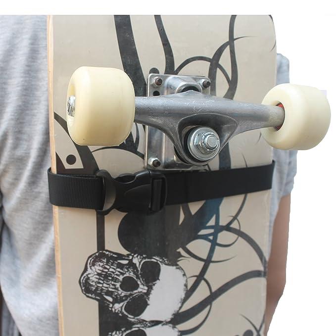 Amazon.com: yyst – Tabla de skate (Arnés de Hombro Carrier ...