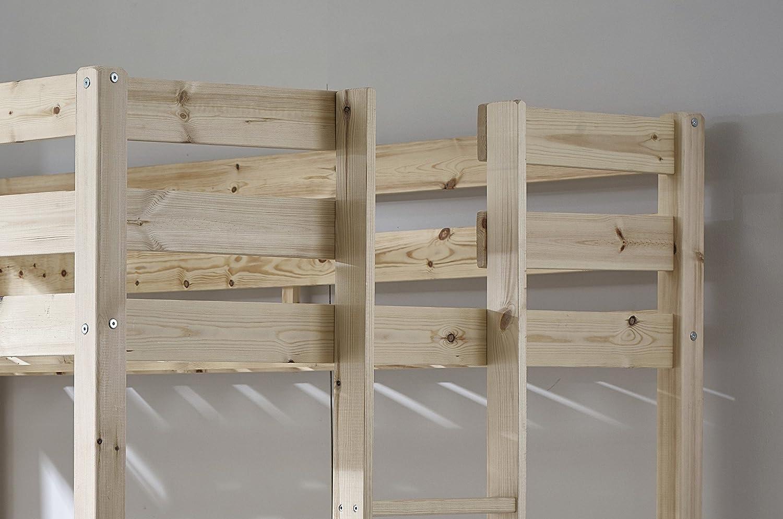 Etagenbett Doppelt : Amazon.de: doppelt loft etagenbett 4 ft 6 holz hochbett stockbett