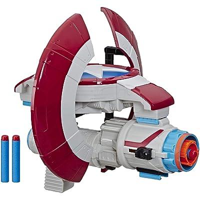 Marvel Avengers Captain America Nerf Assembler Gear: Toys & Games