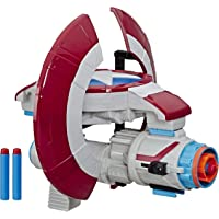 Marvel Avengers - NERF Captain America Assembler Gear Blaster - Inc 3 Official Darts - Kids Toys & Outdoor Play - Ages 5…