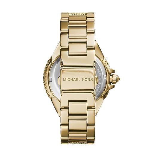 37c81ad59353 Michael Kors Women s MK5720 Camille Pavé Quartz Gold-Tone Stainless Steel  Watch  Michael Kors  Amazon.ca  Watches