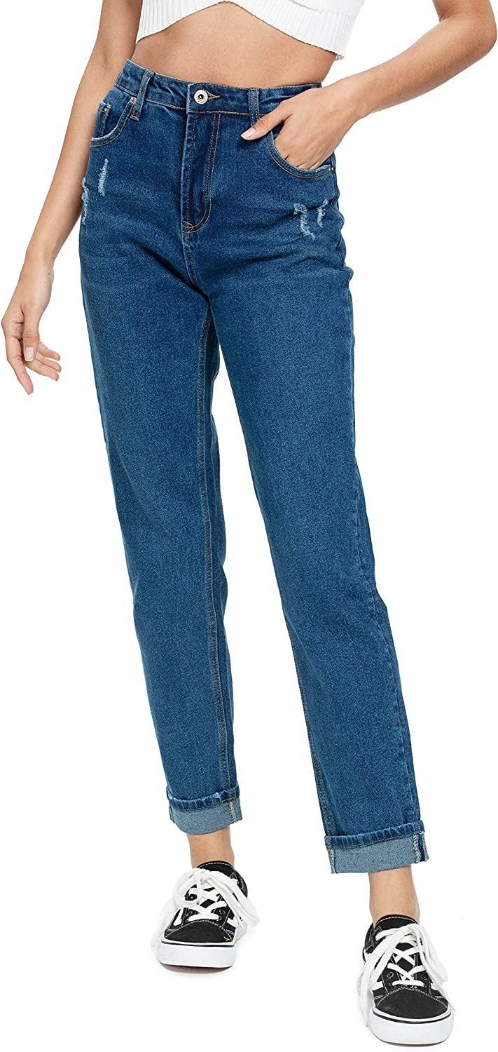 Jmitha Women S Curvy Straight Leg Jeans High Waited Relaxed Fit Rolled Or Unrolled Hem Boyfriend Denim Pants At Amazon Women S Jeans Store The inseam is sliiiightly cropped to hit at the ankle just like your favorite mom. jmitha women s curvy straight leg jeans high waited relaxed fit rolled or unrolled hem boyfriend denim pants