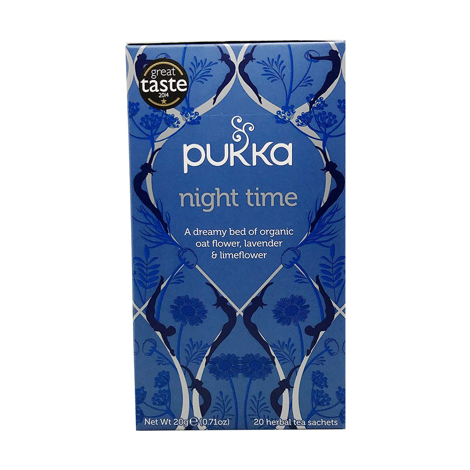 Pukka Herbal Tea Night Time, 20 ct