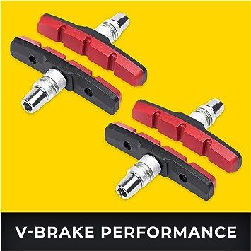 V-Brake Zapatas Freno 2 Par 70mm Symmetric I para Shimano, Tektro ...