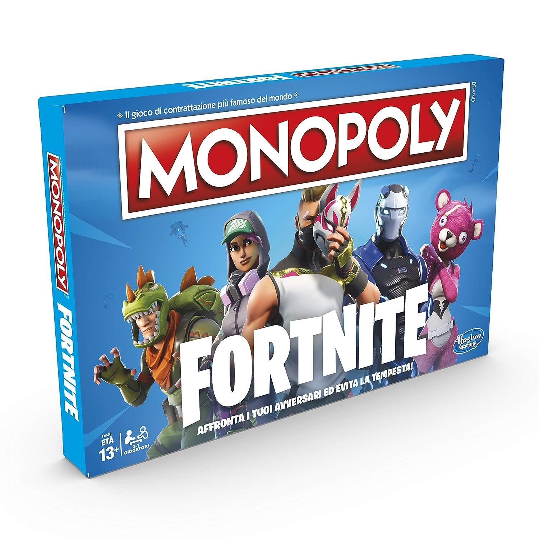 42c9cccd987a10 Hasbro Monopoly E6603103 Edizione Fortnite Gioco da Tavolo, Versione in  Lingua Italiana: Amazon.it: Giochi e giocattoli