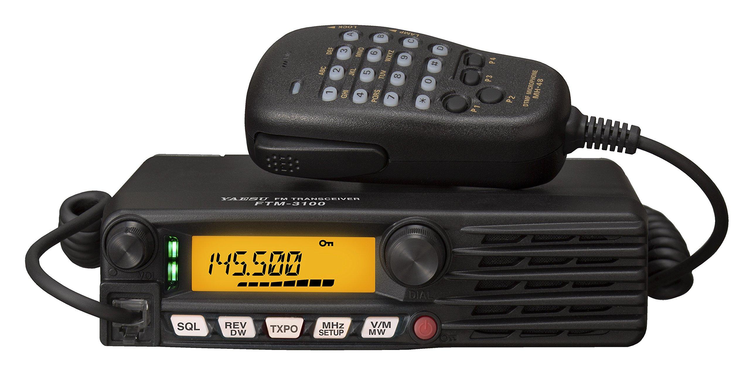 Yaesu Original FTM-3100R 144 MHz Analog Single Band Rugged 65W Mobile Transceiver - 3 Year Manufacturer Warranty by Yaesu