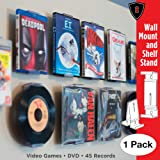 CollectorMount DVD Mount Video Game, 45 Record and
