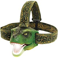 The Original DinoBryte LED Headlamp - T-Rex Dinosaur Headlamp for Kids | Dinosaur Toy Head Lamp Flashlight for Boys…