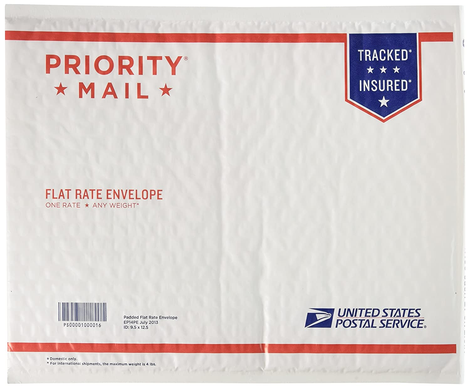 USPS x Priority Mail 12 1/2 x USPS 9 1/2 Padded Flat Rate Envelope x 10 units by USPS a4094d