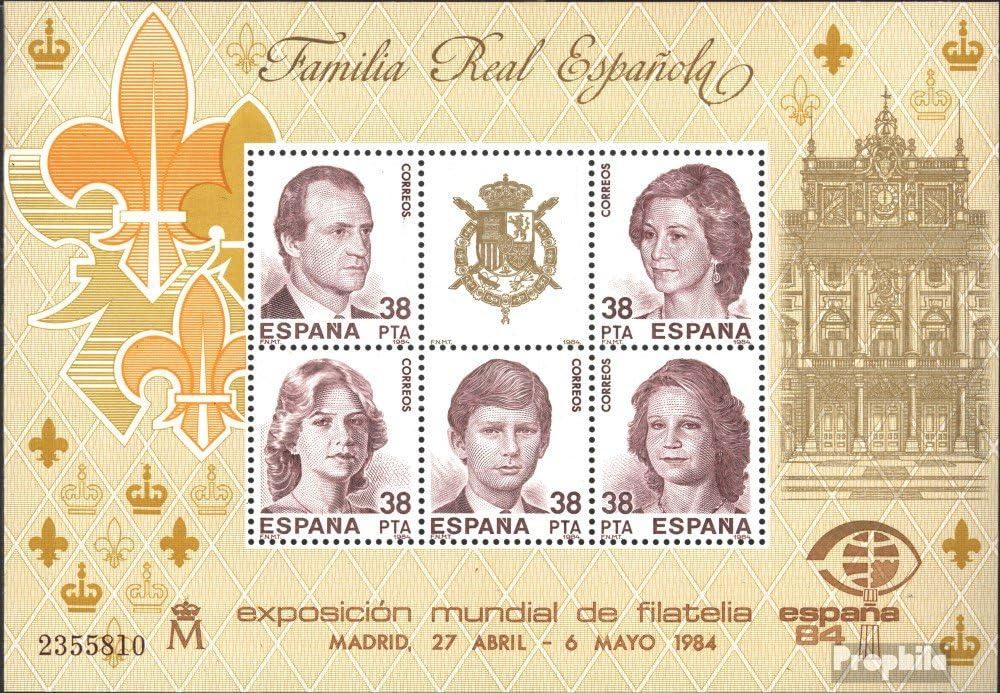 Prophila Collection España block27 (Completa.edición.) 1984 Espana `84 (Sellos para los coleccionistas): Amazon.es: Juguetes y juegos