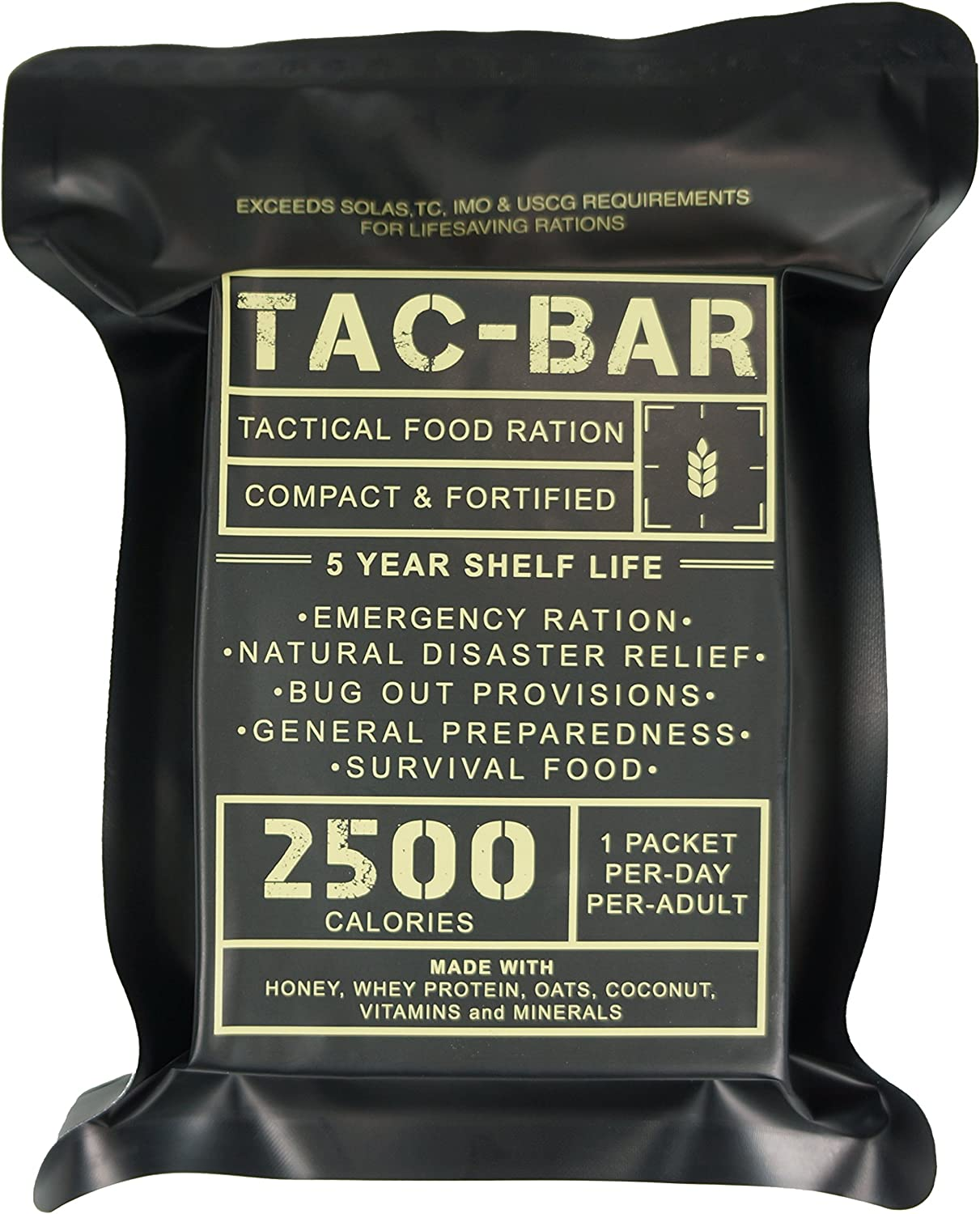 Image of a pouch containing ready to eat meal.