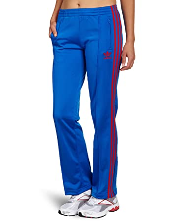 adidas Firebird Women's Tracksuit Bottoms blue bluebird/poppy/white Size:38