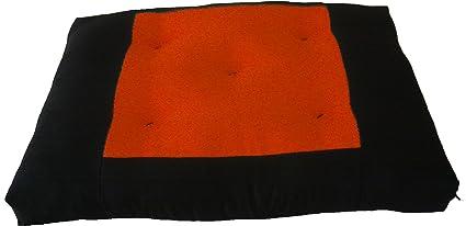 Amazon.com : Brand New Central Orange Zabuton, Yoga ...