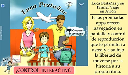Amazon.com: Luca Pestañas y su Primer Viaje en Avión: Appstore for Android