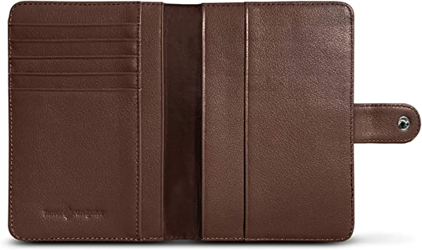 Theft Proof Leather Wallet for Men /& Women �CCartoon Greeting Rooster RFID Blocking Passport Holder 5 Slots