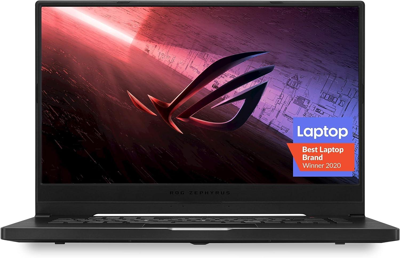 "Amazon.com: ROG Zephyrus G15 (2020) Ultra Slim Gaming Laptop, 15.6"" 240Hz  FHD, GeForce RTX 2060, AMD Ryzen 7 4800HS, 16GB DDR4, 1TB PCIe NVMe SSD,  Windows 10 Pro, GA502IV-XS76: Computers & Accessories"