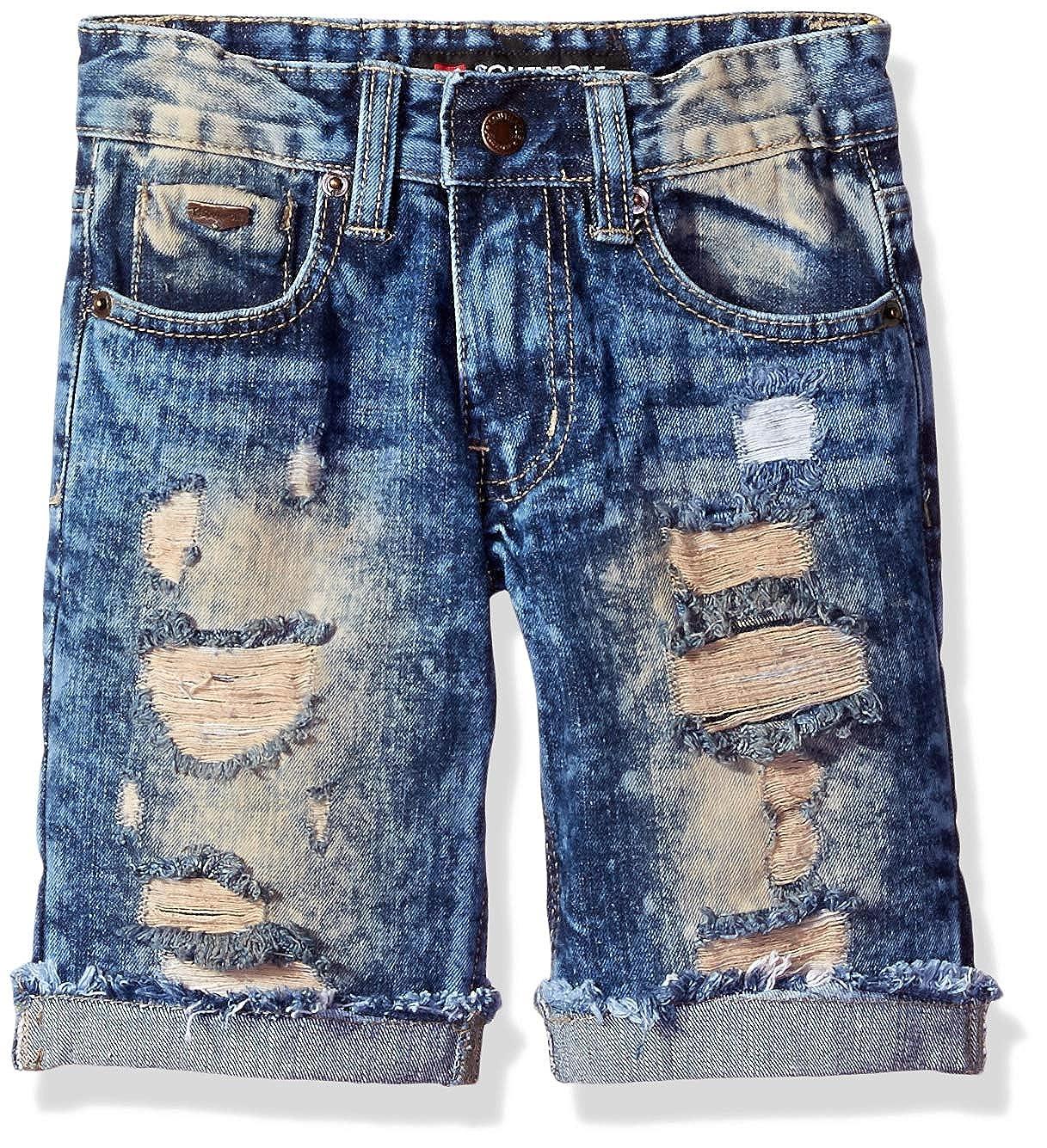 62acfa0e9 Amazon.com: Southpole Boys' Denim Shorts: Clothing
