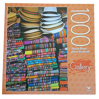Gallery Jigsaw Puzzle - Lima, Peru Market 1000 Pieces: Toys & Games
