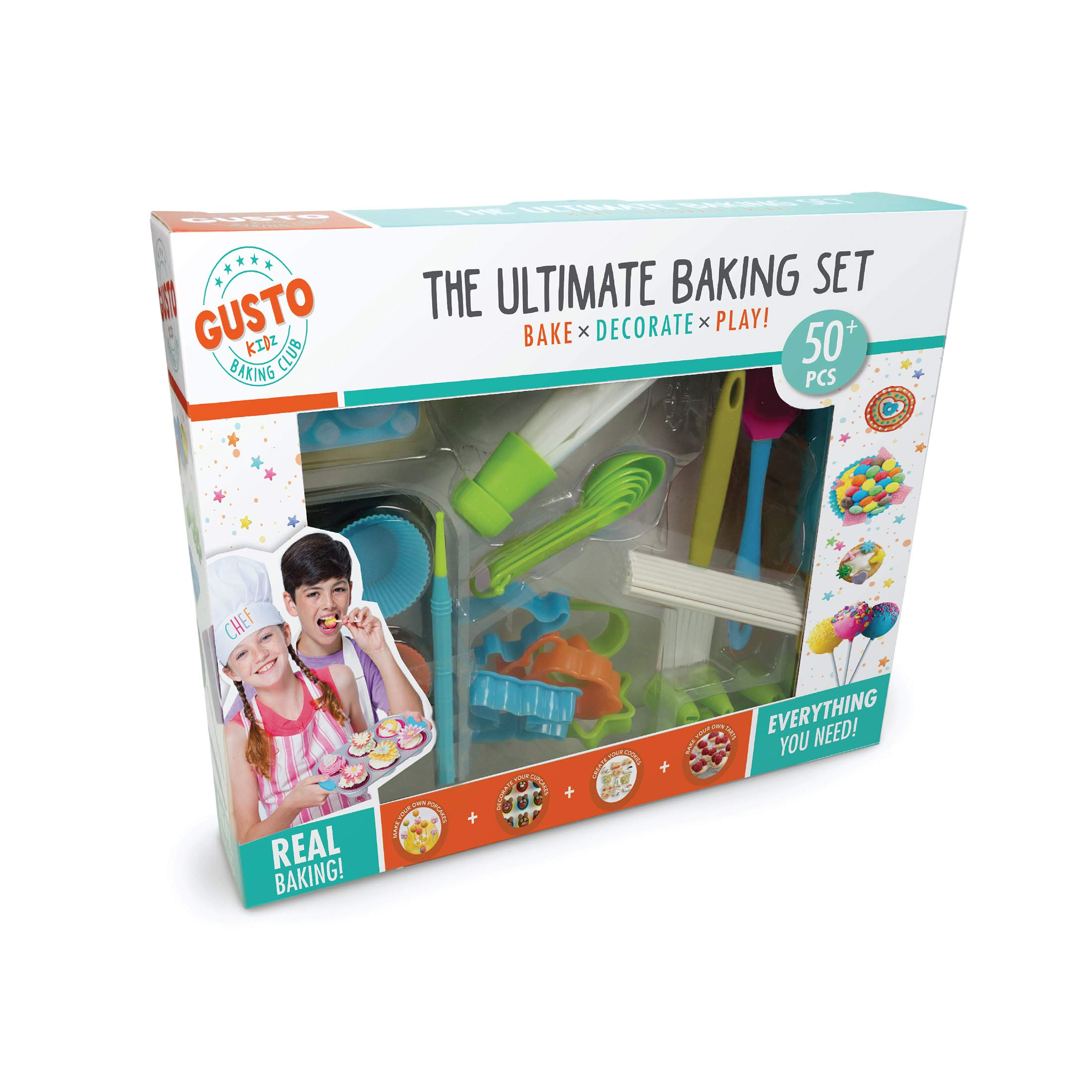 Gusto Ultimate Baking Set - Bake, Decorate, Play by Gusto