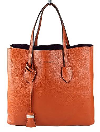 f7be199200778 Coccinelle Damen Tasche Shopper CELENE Leder braun rot (calendula raisin)  E1AH5110101 933
