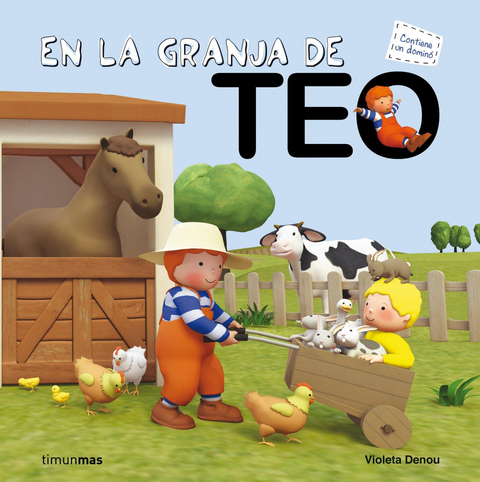 En La Granja De Teo Spanish Edition Violeta Denou