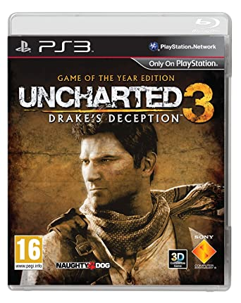 Amazon Com Uncharted 3 Drake S Deception Game Of The Year Video