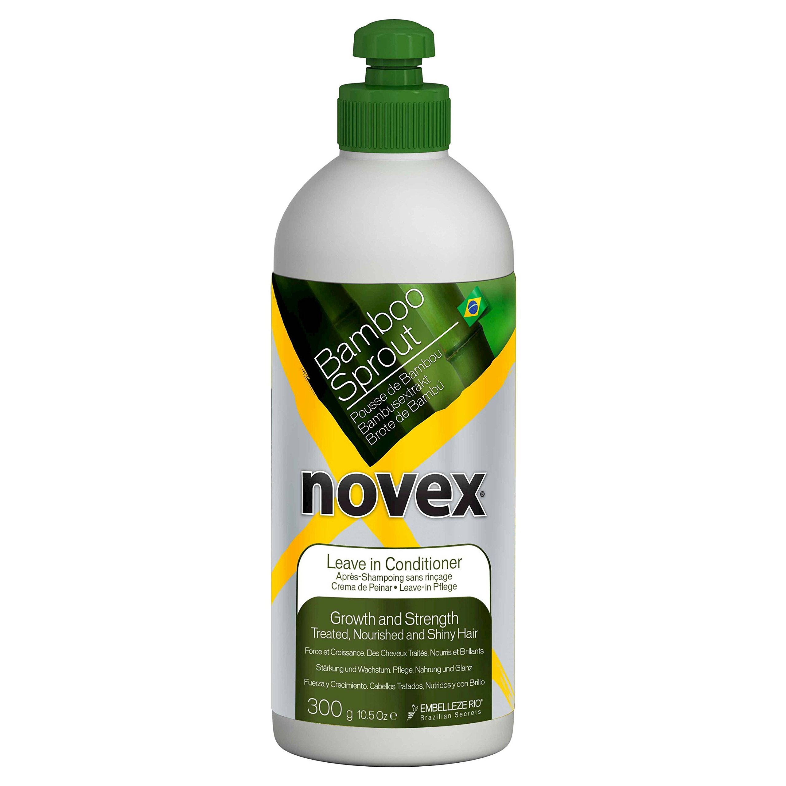 Novex Bamboo Leave-in Conditioner 300g 10.5oz
