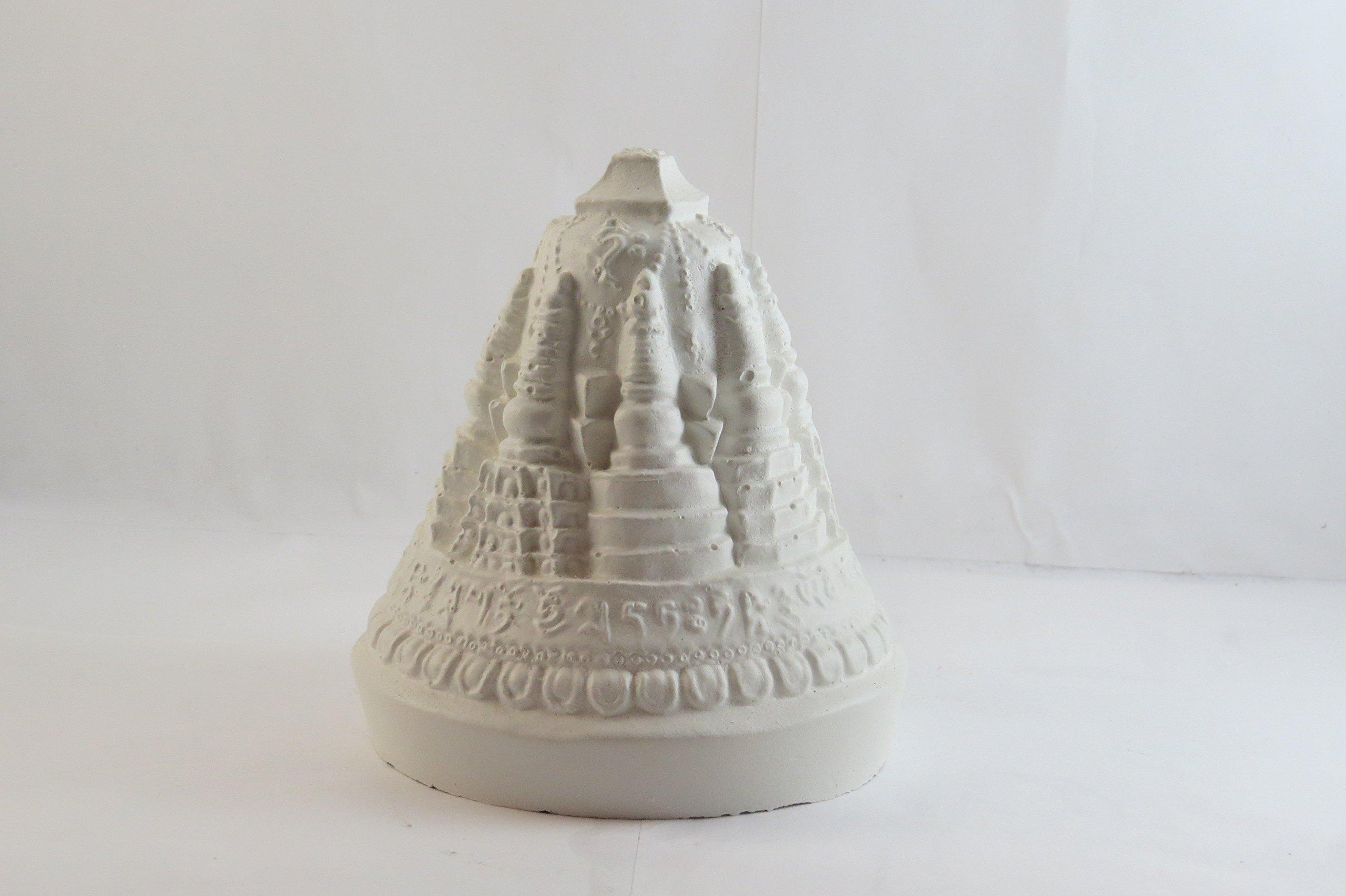 Buddhist Stupa Tsa Tsa by Magic Forest Workshop