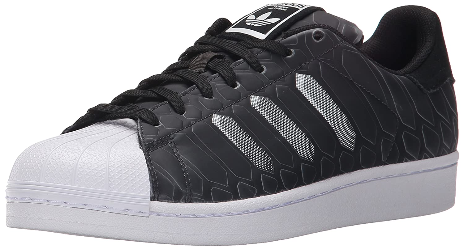 a7d8a2009 Sneaker with rubber-shell toe featuring geometric print and mesh  three-stripe design at each side. Trefoil logo on tongue. Herringbone- pattern ...