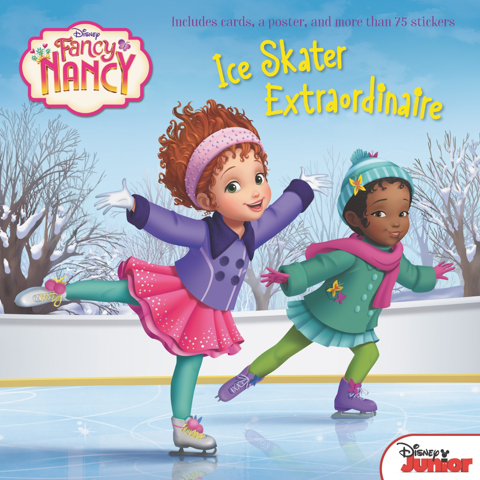 Disney Junior Fancy Nancy: Ice Skater Extraordinaire: Krista Tucker, Disney  Storybook Art Team: 9780062843951: Amazon.com: Books