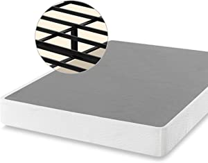 ZINUS 9 Inch Smart Metal Box Spring / Mattress Foundation / Strong Metal Frame / Easy Assembly, Queen