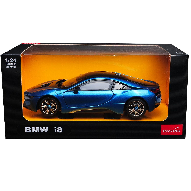 B-M-W I8 Coupe Blau Ab 2013 1//24 Rastar Modell Auto