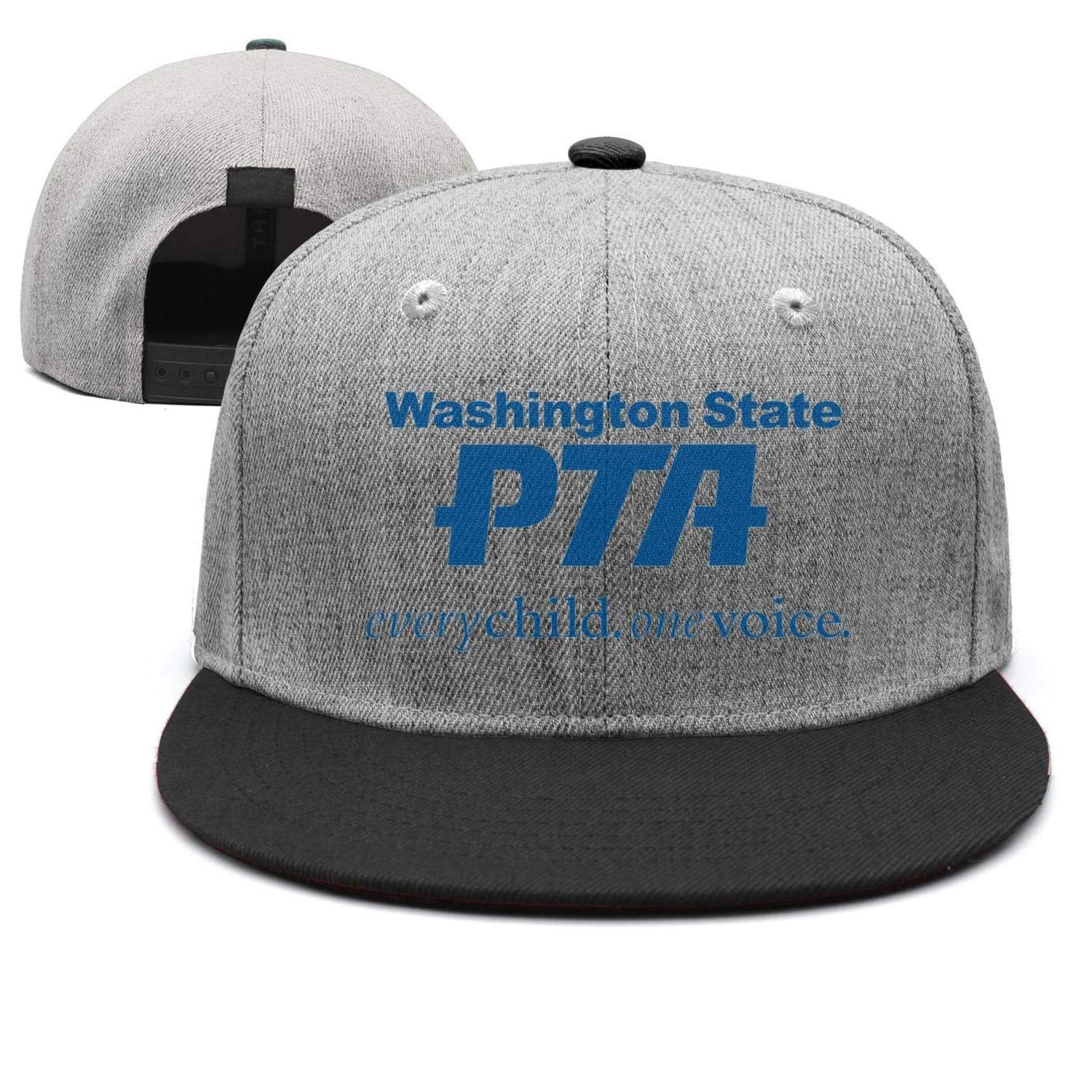 Cotton Casual Trucker hat Adjustable Fits Mesh Baseball Caps for Man and Woman smsdpmc Washington-Classic-State-PTA