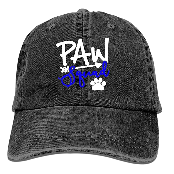 c15767a341f2d Baseball Caps for Men Women-Paw Squad Sports Cap Adjustable Trucker ...