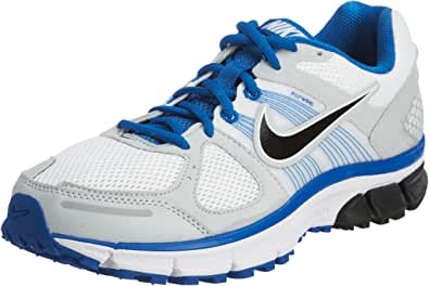 Nike Mens Air Pegasus 28 Running Shoe Extra Wide White/Blue Size 11
