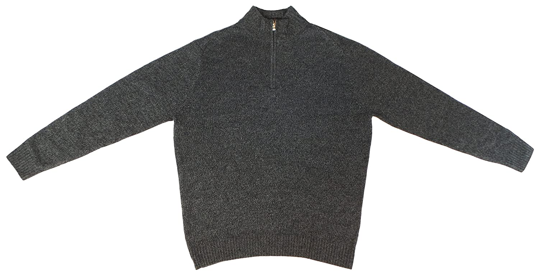 Nice Enzo Mantovani Men's 1/4 Zip 100% Wool Pullover Sweater for sale