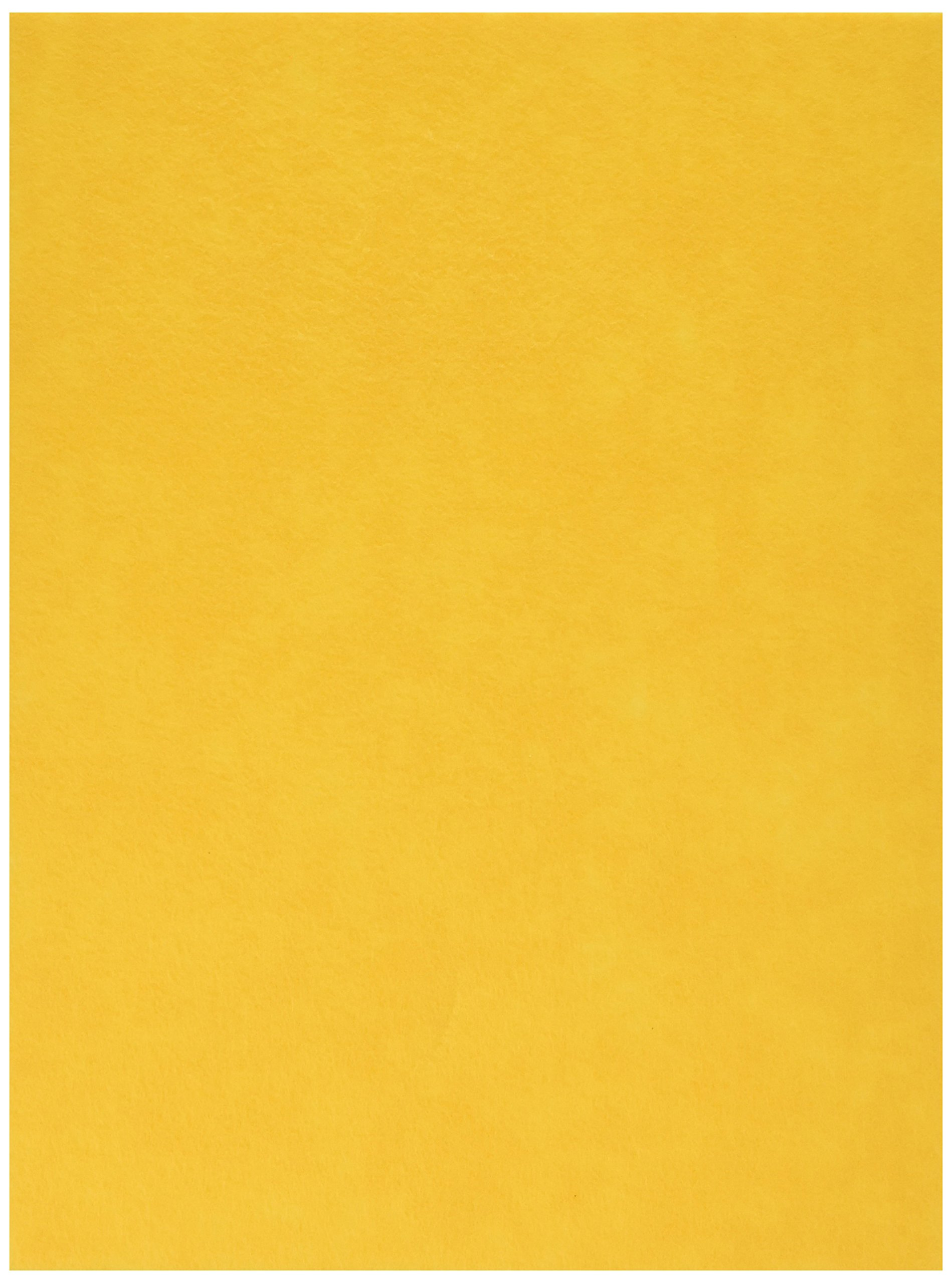 The New Image Group Stick It Felt 9''X12''-Yellow, Pack of 6