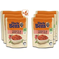 Uncle Ben's Tomato Basil Rice, 6 x 250g