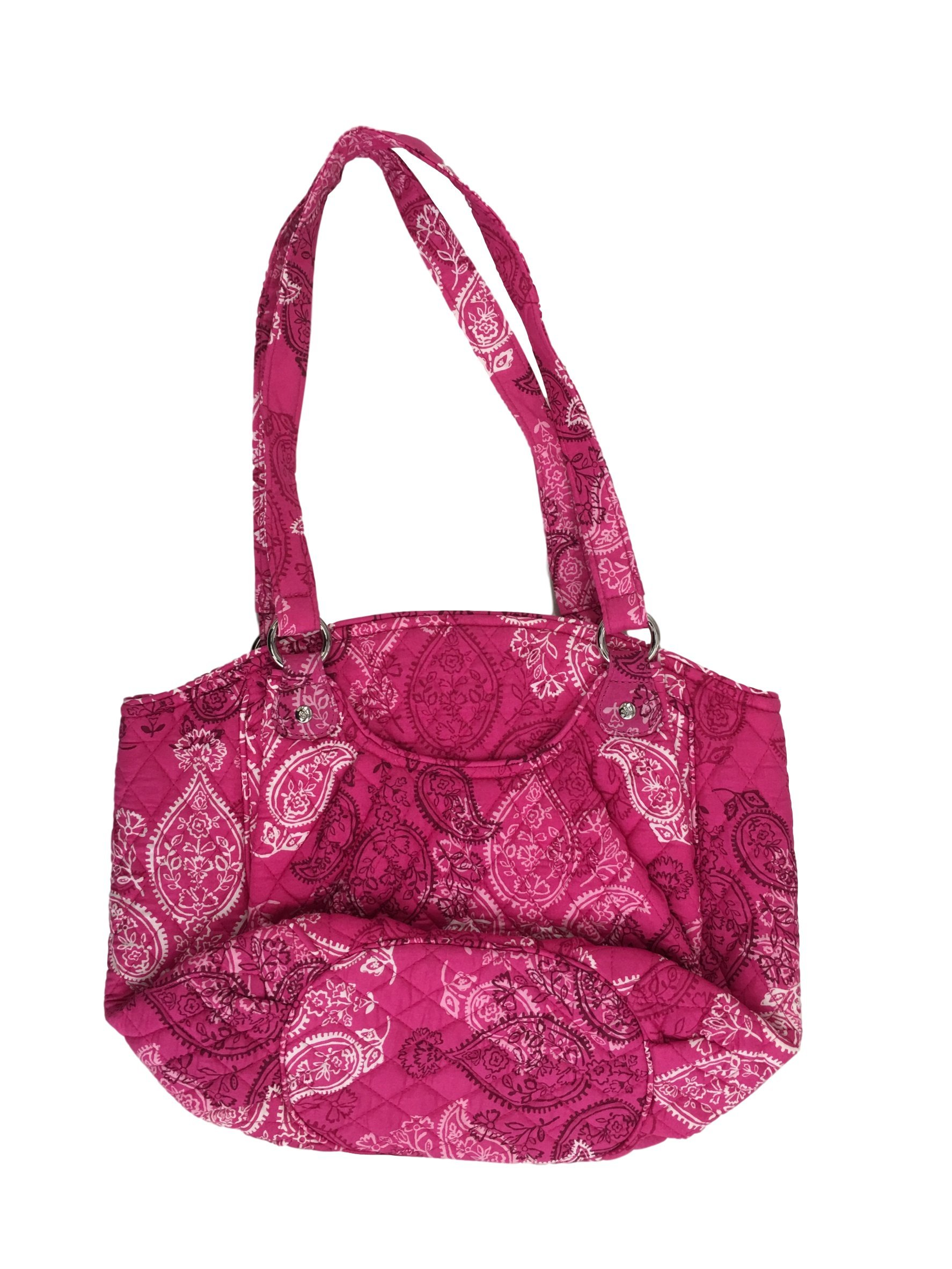 Vera Bradley Glenna Shoulder Bag, Signature Cotton (Stamped Paisley)