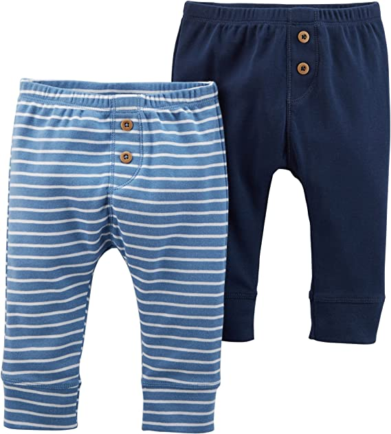 Carters Baby Boys 2-Pack Fleece Pant