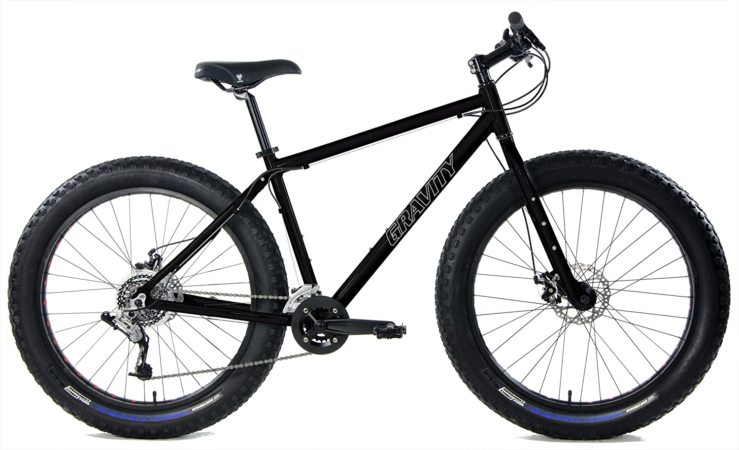 740a23156e1 Amazon.com   Aluminum Fat Bikes with Powerful Disc Brakes Gravity Monster  Mens Fat Tire Bicycle 26