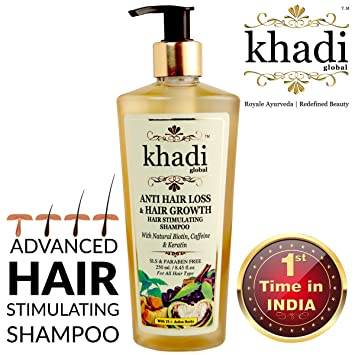 Buy Khadi Global Anti Hair Loss And Hair Growth Stimulating Shampoo