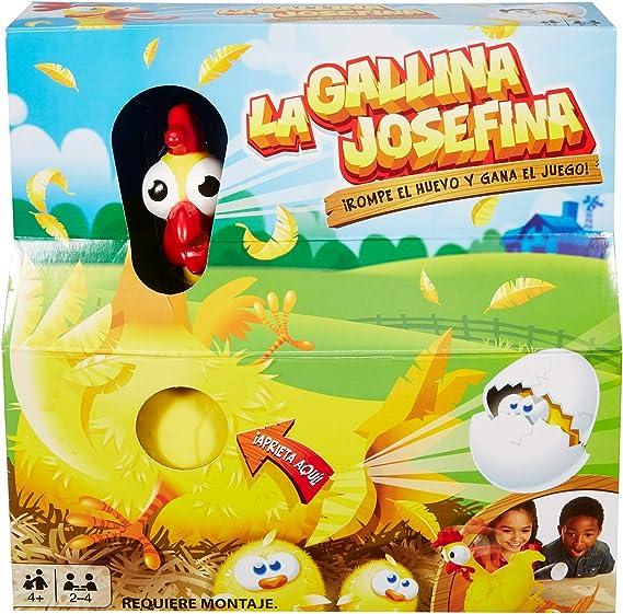 Mattel Games La Gallina Josefina, juego de mesa infantil (Mattel FRL14) , color/modelo surtido: Amazon.es: Juguetes y juegos