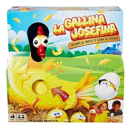 Mattel Games La Gallina Josefina Juego De Mesa Infantil Mattel
