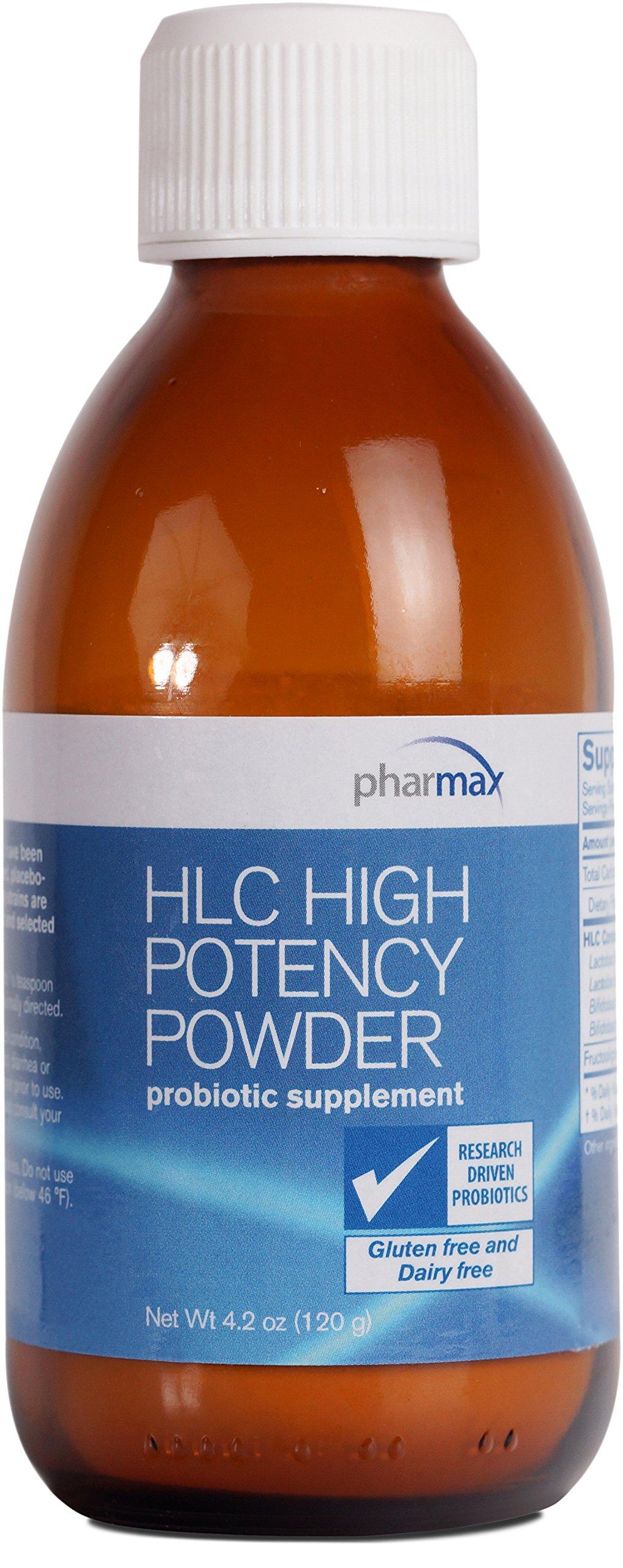 Pharmax - HLC High Potency Powder - Probiotics to Promote Gastrointestinal Health in Adults* - 4.2 oz. (120 g)